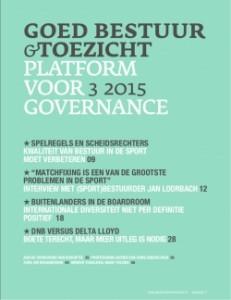 Goed bestuur en toezicht 3