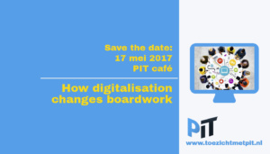 Save the date PIT café 17 mei