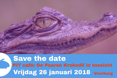 Save the date Paarse Krokodil