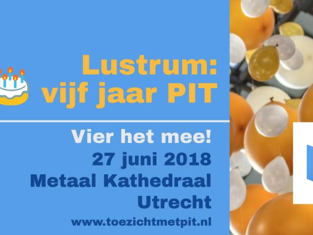 Lustrum PIT 27 juni 2018